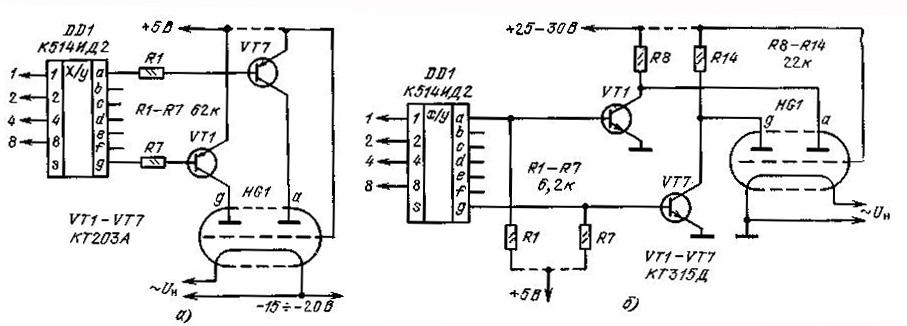 Ивл1-8 схема включения