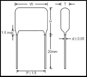 CL-21 (аналоги К73-17) - Плёночные - КОНДЕНСАТОРЫ - Электронные ...